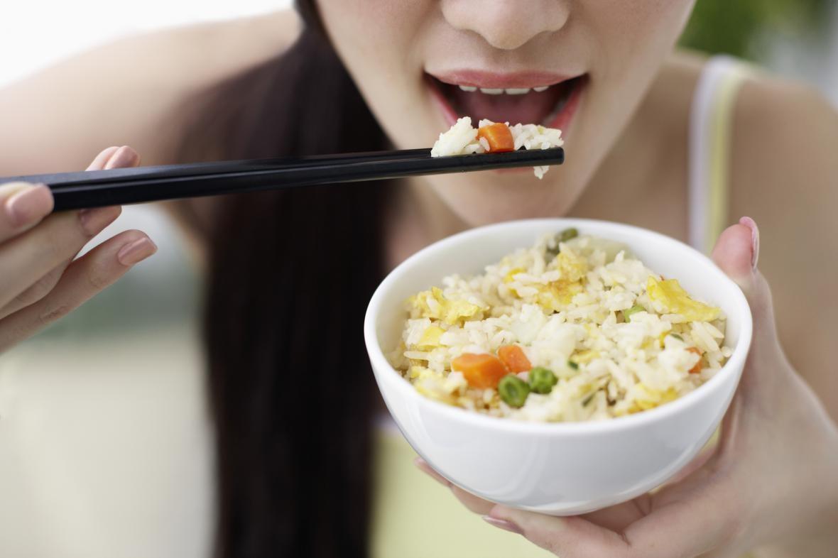 Китайская диета с сырым рисом